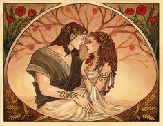 Hades and Persephone by UnripeHamadryad on DeviantArt