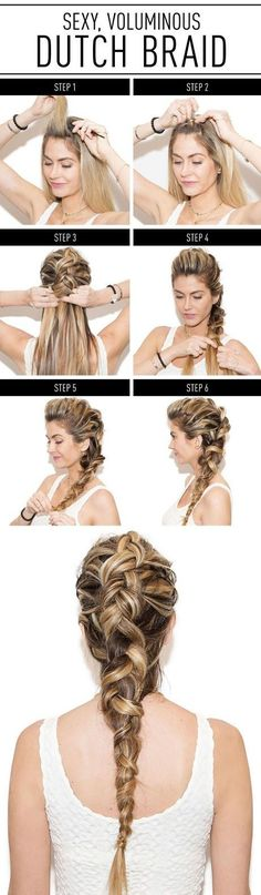 How to make the dutch braid
