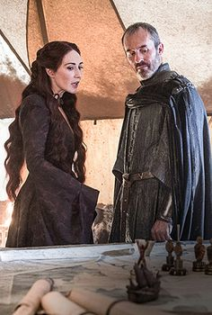 MELISSANDRE and  STANNIS
