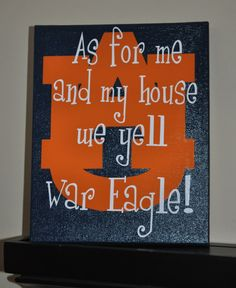 I LOVE this! Must have for next fall...War Eagle!!