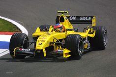 2004 Jordan EJ14 - Ford Cosworth (Timo Glock)