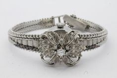 Vintage Jules Jurgensen Diamond Encrusted 14k Art Deco Watch Runs MINT Orig Box #JulesJurgensen #Fashion