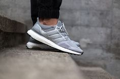 d36b5a8e702d5 ADIDAS ULTRA BOOST (SILVER WHITE) - Sneaker Freaker Adidas Ultra Boost  Silver