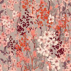 Textile Prints, Textiles, Unique, Flowers, Pattern, Painting, Inspiration, Art, Tejidos