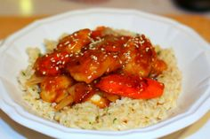 Recipes For Divine Living: Orange Sesame Chicken
