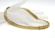 Gliederkette 333/- 8K Collier Kette Goldkette Gold Echtschmuck Fashion 1202
