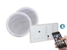 KLAB20DB Bluetooth In Wall Amplifier & Waterproof Ceiling Speakers - Keene