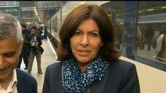 """Paris Mayor: Donald Trump is 'So Stupid' TUE, MAY 10  Arriving in London, Anne Hidalgo was asked about the U.S. presidential candidate's proposed ban on Muslims. """"Mr. Trump is so stupid, my God,"""" she said. 05.10.16"""
