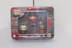 FUNKO HORROR Pocket Pop Mini Tin #11 JASON, FREDDY, SAM HAIN vinyl figures BLOOD
