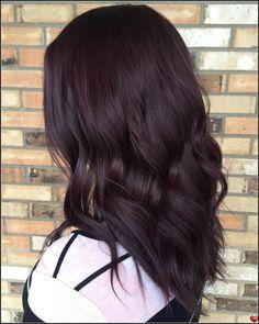 Brown hair superb black wedding hairstyles - part 2 hairstyles Violet Brown Hair, Brown Blonde Hair, Light Brown Hair, Dark Hair, Dark Maroon Hair, Dark Red Hair Burgundy, Red Purple, Black Brown Hair, Blonde Brunette
