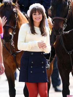 #LeaMichele #RachelBerry #Glee