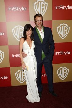 """Entourage"" actress Perrey Reeves and Johann Urb."