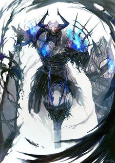 King Hassan o rei caido Fantasy Character Design, Character Concept, Character Art, Concept Art, Fate Characters, Fantasy Characters, Guerrero Dragon, Art Manga, M Anime