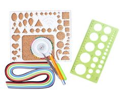 WellieSTR DIY Scrapbooking Paper Quilling Sets,ollection with Colors Mixed Quilling Paper, Work Board, Slotted Tools, Pins, DIY Paper Quilling Tool Paper Craft *** Find out more about the great product at the image link.