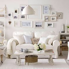 Beautiful white lounge