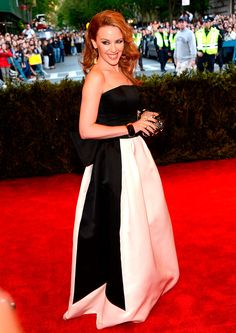 Met Gala 2013: Punk Chaos to Couture - Kylie Minogue in Moschino