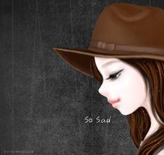 작가컬러코스-스킨제목:가을향기작가컬러코스-깜찍한girl작가컬러코스-스킨제목:코스모스향기작가컬러코스-... Lily Cat, Korean Illustration, Cute Korean, Cowboy Hats, Tired, Sick, Collection, Style, Fashion