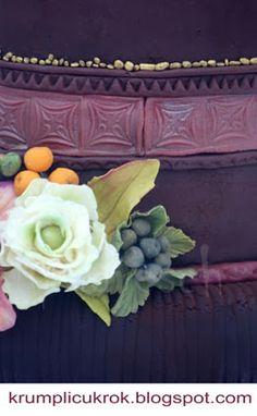 cake with sugar flower by Lipovszky-Drescher Mária Wedding Cake Inspiration, Sugar Flowers, Wedding Cakes, Plants, Wedding Gown Cakes, Cake Wedding, Plant, Wedding Cake, Wedding Pies