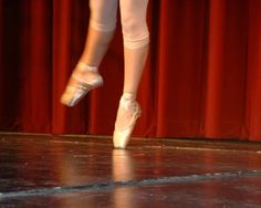 Ballet, Pointe Shoes, Dance, Theatre, Red, Curtain, Stage, Performing Arts,  Photography, 8x10 Print on Etsy, $12.00