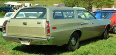 The Station Wagon...took our station wagon on lots of road trips...5 kids...road side picnics...ahhh the good old days!
