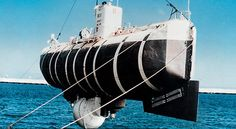 The first and only time humans descended into the Challenger Deep was more than 50 years ago. In 1960, Jacques Piccard and Navy Lt. Don Walsh reached this goal in a U.S. Navy submersible, a bathyscaphe called the Trieste. After a five-hour descent, the pair spent only a scant 20 minutes at the bottom and were unable to take any photographs due to clouds of silt stirred up by their passage.