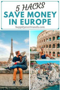 5 Incredibly Simple Tips Guaranteed to Save You Money While Traveling Europe Paris France Travel, Travel Tips For Europe, Paris Travel Guide, Europe On A Budget, Backpacking Europe, Europe Destinations, Traveling Europe, Budget Travel, Europe Europe