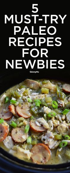 5 Must-Try Paleo Recipes for Newbies