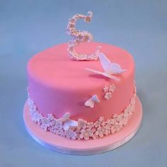 The World's most recently posted photos by Cakes By Jacques Butterfly Birthday Cakes, Butterfly Cakes, White Cakes, Pink Cakes, My Favorite Color, My Favorite Things, Pink Foods, Beautiful Butterflies, Christening