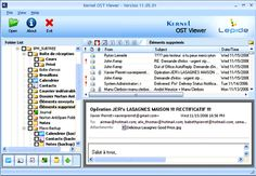 Make use of Kernel OST Viewer and open OST files even in the situations where MS outlook fails to open them. In fact, by using this tool you can effectively open OST files having minor corruption or files that are password protected.