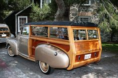 1948 Nash Super woody