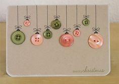 weihnachtskarten design basteln ideen schön