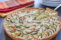 Goat courgette quiche with thermomix Breakfast Time, Best Breakfast, Breakfast Recipes, Challenge Butter, Great Recipes, Favorite Recipes, Fabulous Foods, Food For Thought, Love Food