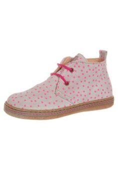 Chaussures à lacets - rose