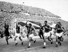 World Cup winners Brazil 1958