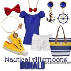 Disney Bounding With The Disney Fashionista- The Dazzling Donald Duck