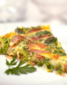 Freybe Baked Frittata with Capicolli & Broccoli