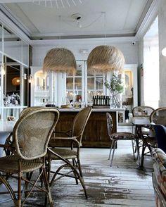 One more  (because look at those chairs and shades!!!) Dray Martina, Madrid @draymartina