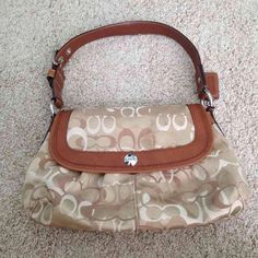 Authentic Coach Purse Selling for $90 on Mercari. you can buy it here too it's just cheaper over there. description and my Mercari username in the last picture. Coach Bags Shoulder Bags