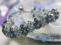 From shiny bracelets to stunning necklaces, you are sure to find the perfect stunning addition to your ensemble for any occasion in DIY Jewelry that Sparkles 10 Crystal Jewelry Patterns. Crystal Bracelets, Crystal Jewelry, Wire Jewelry, Jewelry Crafts, Beaded Jewelry, Jewelry Bracelets, Handmade Jewelry, Jewelry Patterns, Bracelet Patterns