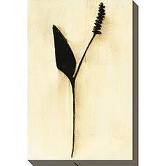 Leslie Saris 'Natural Element V' Oversized Canvas Art