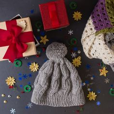 Knit or gift your loved ones with one of Yarn Vibes Christmas knitting kits! With our beautiful natural Irish yarn its a gift they will love and treasure for a long long time! Knitting Kits, Christmas Knitting, Yarn Colors, Mittens, Irish, Winter Hats, Christmas Ornaments, Holiday Decor, Natural