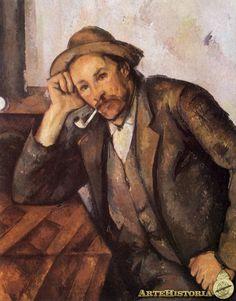 CEZANNE. Fumador de pipa. 1891-92