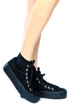 platform converse sneakers. DOLLSKILL