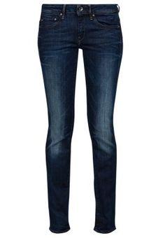 MIDGE MID STRAIGHT - Straight leg jeans - neutro stretch denim