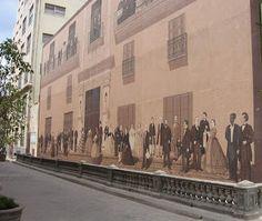 El mural de la calle Mercaderes La Habana Vieja, Cuba