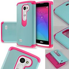LG Power Case, LG Leon LTE Case, SOGA® Hybrid Astro Armor Cover Protector Case for LG Power L22C (Straight Talk) / Leon LTE C40 (Metro PCS, T-Mobile) / Destiny L21G (Tracfone) - Teal / Hot Pink [SWD83], http://www.amazon.com/dp/B00YYOT43M/ref=cm_sw_r_pi_awdm_KQAYvb0WP1HNH
