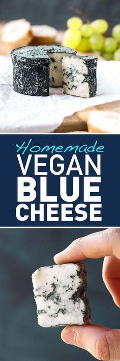 Vegan Aged Blue Cheese. Ikke fordi jeg nogensinde har kunnet lide det, men fedt at det kan lade sig gøre.