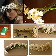 corona de flores