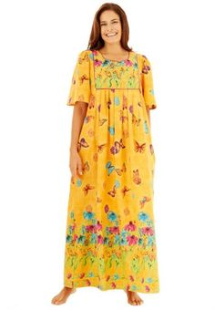 99ec53efc48 Only Necessities Women`s Plus Size Lo...  39.77 Hawaiian Muumuu