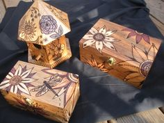 Woodburning (pyrography) by JMW Crafts